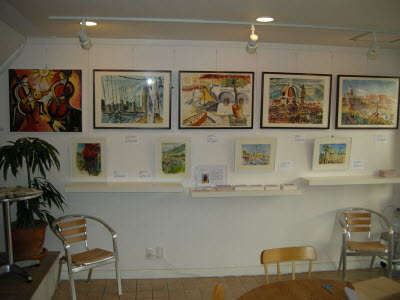 2012 Theo Strutz in Cafe & Gallery Bonte - Right Wall
