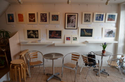 2013 Maria in Cafe & Gallery Bonte 2013, Right Side Wall