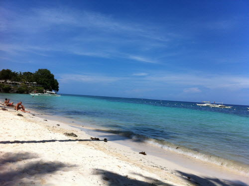Beach on Panglao Island, Bohol 2012