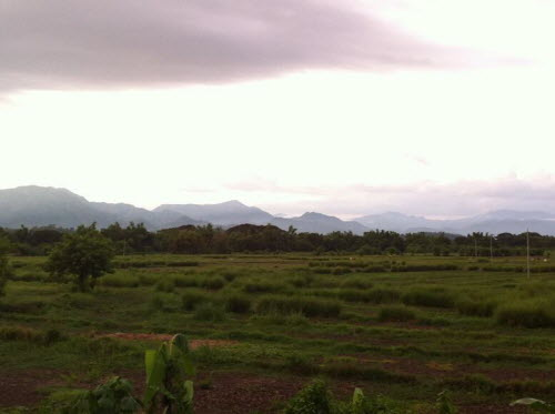 Beautiful landscape close to Bangued, Abra