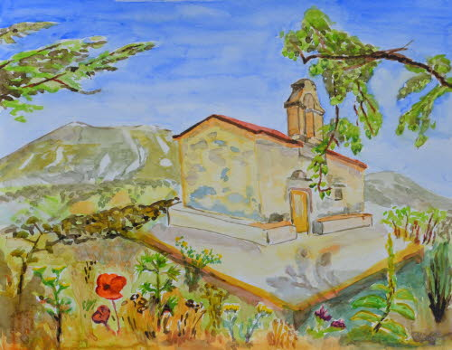 Chapel in the Amari Valley, Crete, 23-May-2015