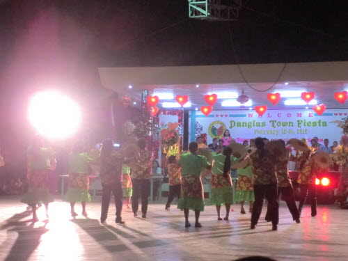 Folkdance Competiton at the Danglas Town Fiesta, Abra, 2012
