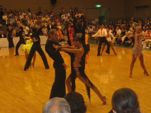 International dance competition in Ikeda, June 19, 2005