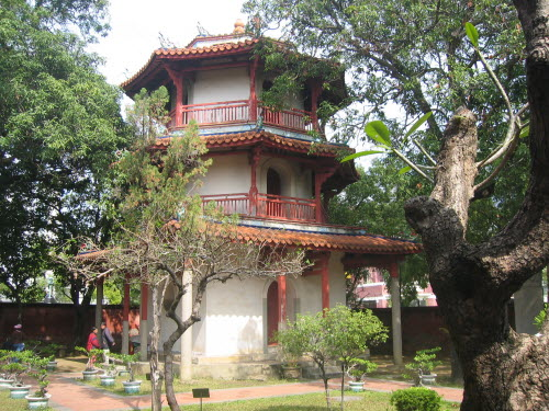 Pavilion for Literature God, Confucius Temple, Tainan