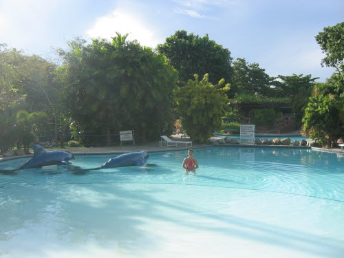 Resort Pool in Cebu, 2005