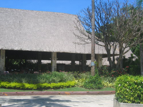 Restaurant Area Resort, Cebu, 2005